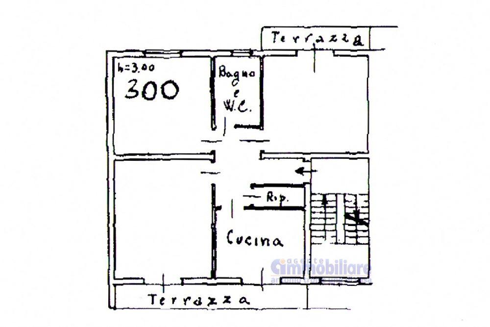 pistoia ovest vendita appartamento antonio troise planimetria