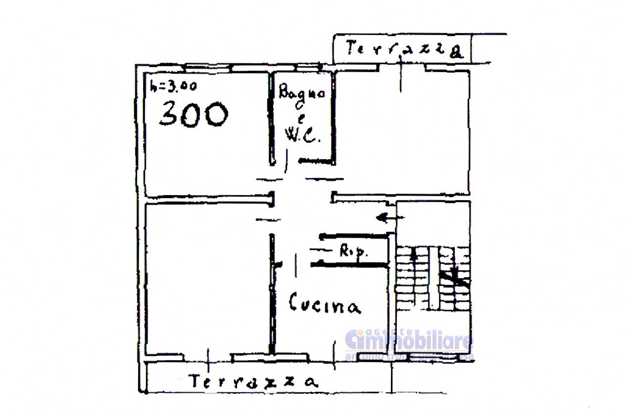Pistoia ovest vendita appartamento piano ultimo garage for Appartamento garage a piano singolo