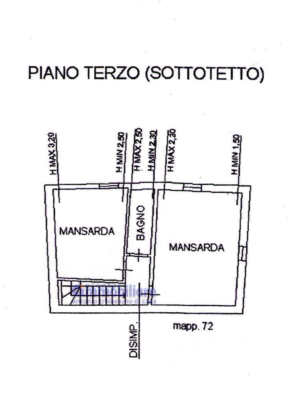 PISTOIA CENTRO APPARTAMENTO CON MANSARDA E TERRAZZA 20