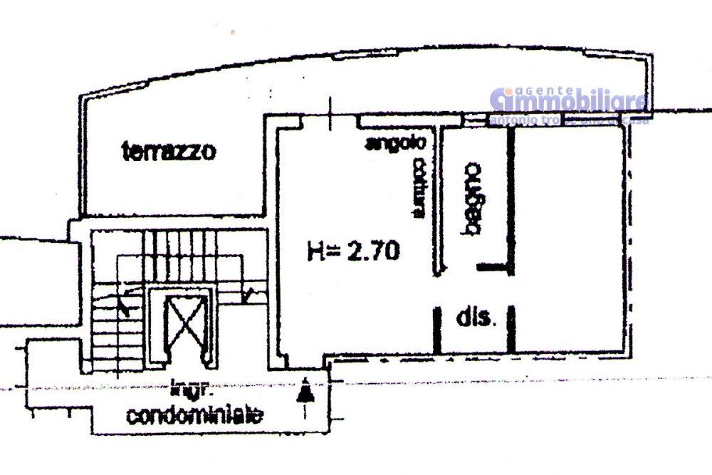 PISTOIA VENDESI BILOCALE CON TERRAZZA ABITABILE E GARAGE 17