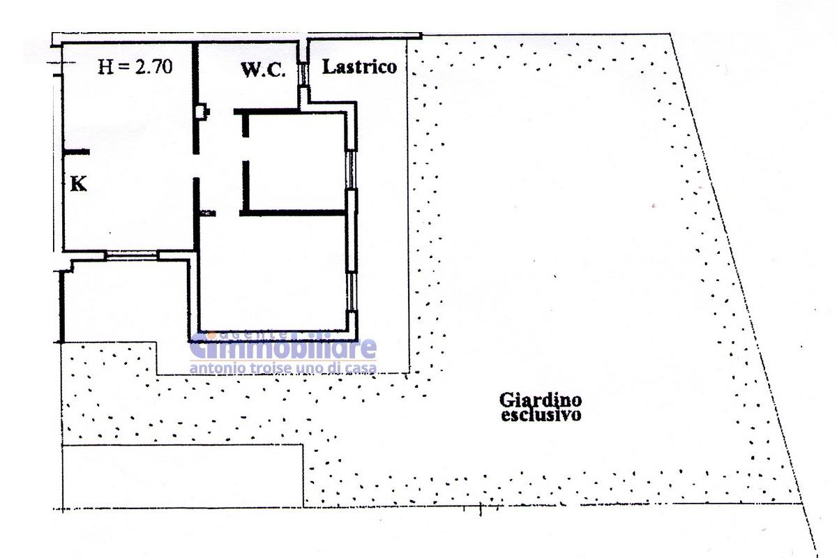 Agliana san michele vendita appartamento con giardino e for Garage con il costo dell appartamento loft