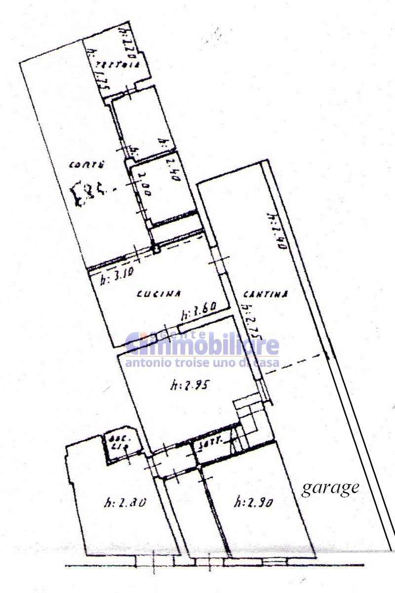 pistoia vergine vendita terratetto garage girdino 14