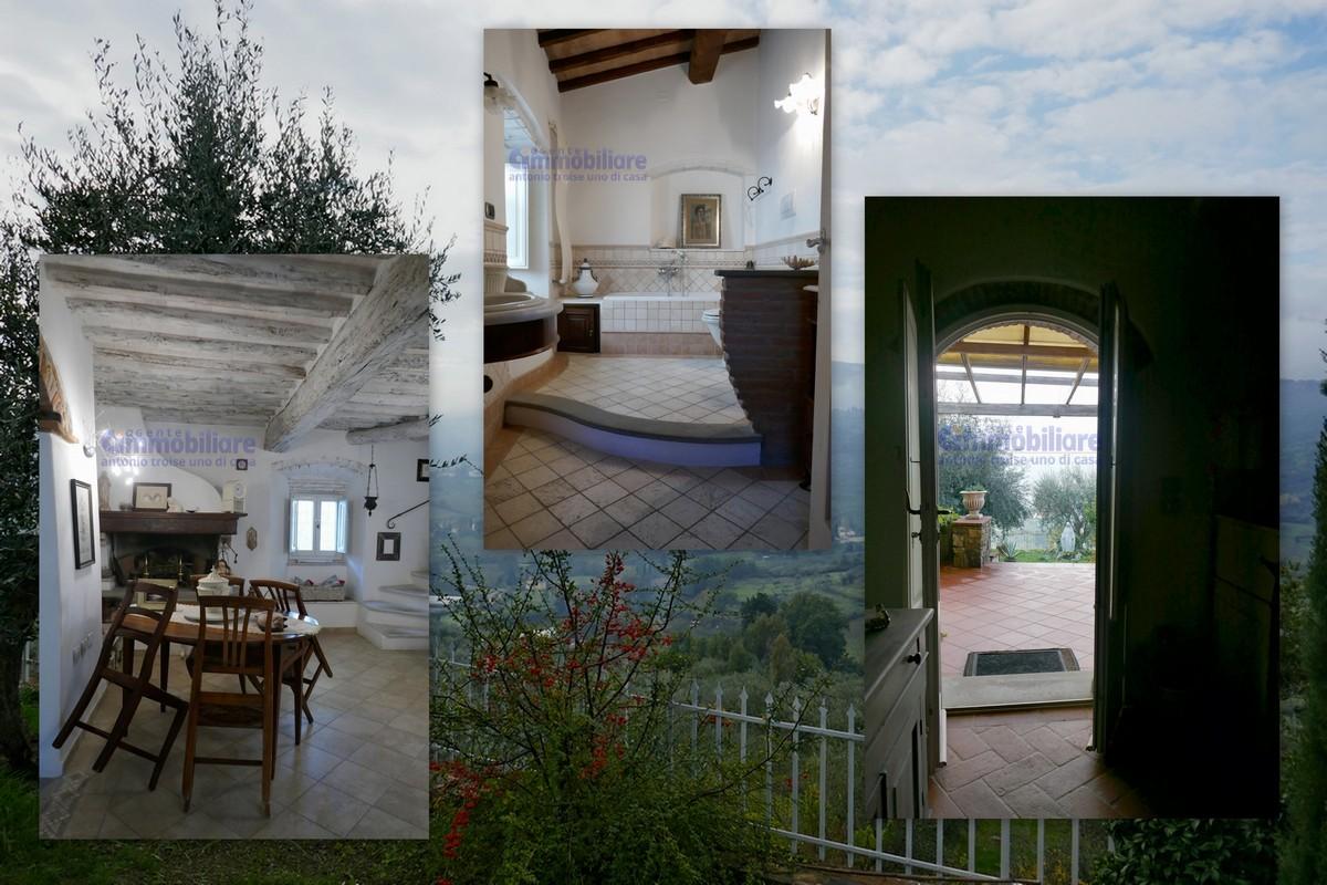 Quarrata Vendita Casa Colonica Ristrutturata Terrazza Giardino