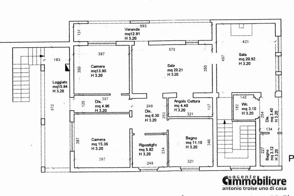 vendesi villa bifamiliare 2 appartamenti 27